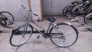 いたって普通の自転車